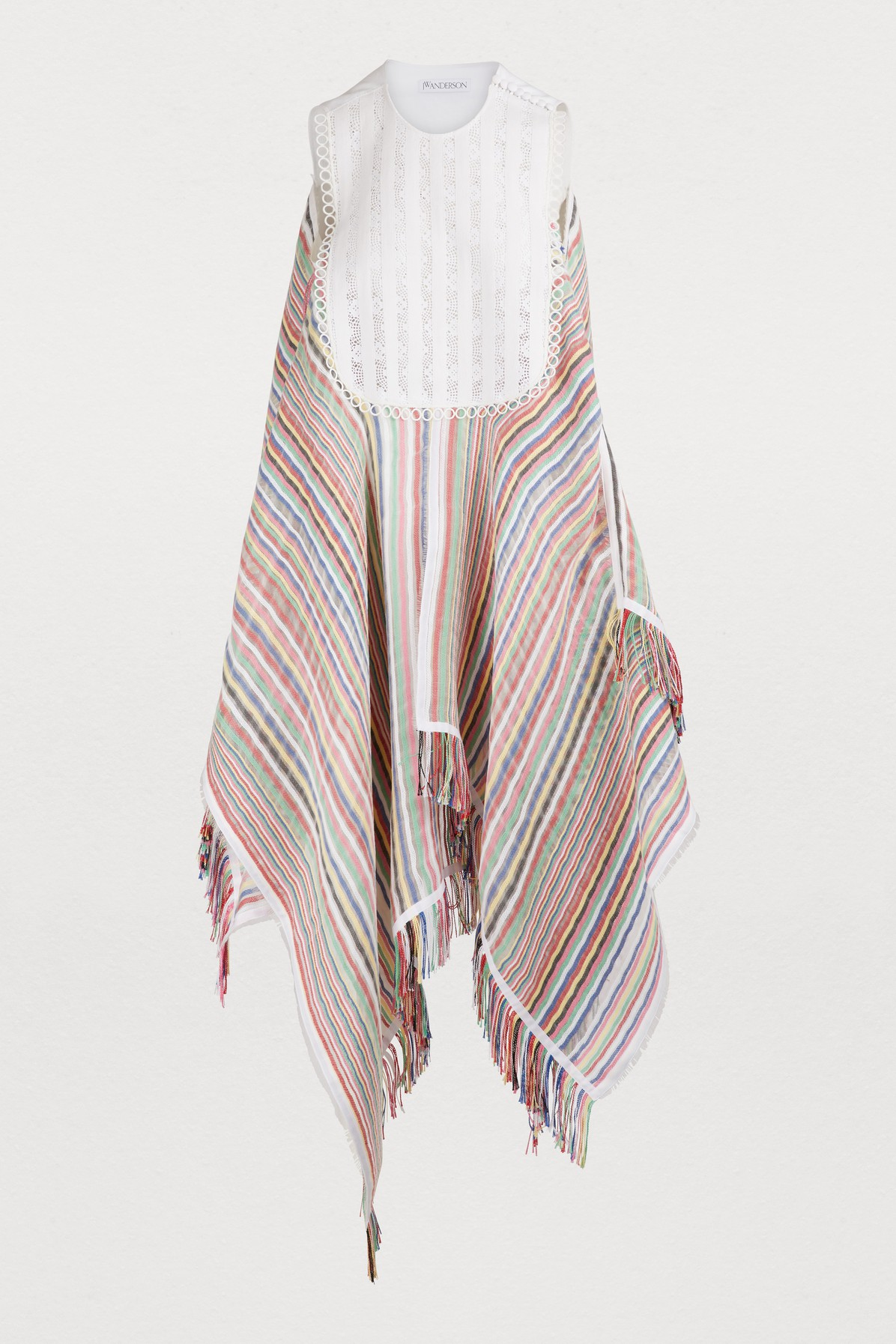 J.w.anderson STRIPED MAXI DRESS