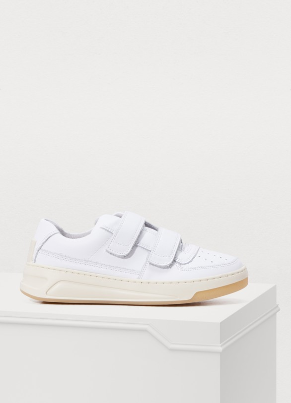 Acne StudiosSteffey velcro sneakers