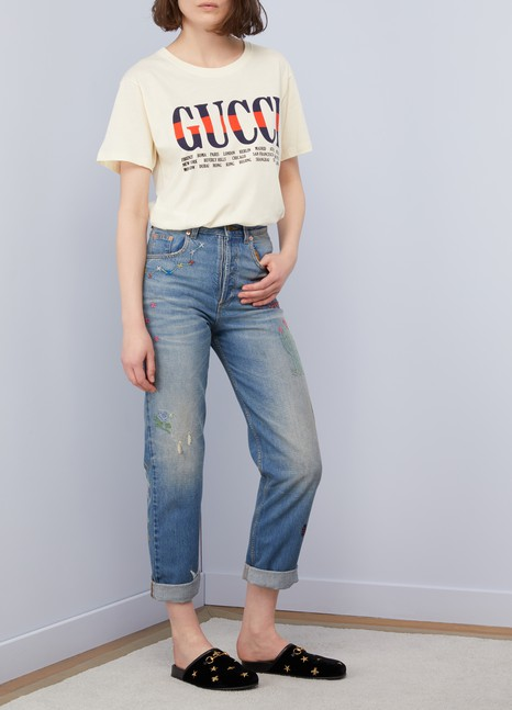 GucciJean 80s brodé
