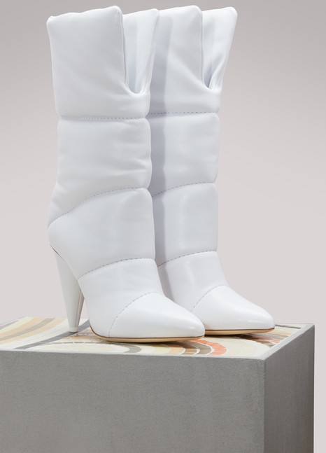 Jimmy Choo x Off-White Sara 100 boots