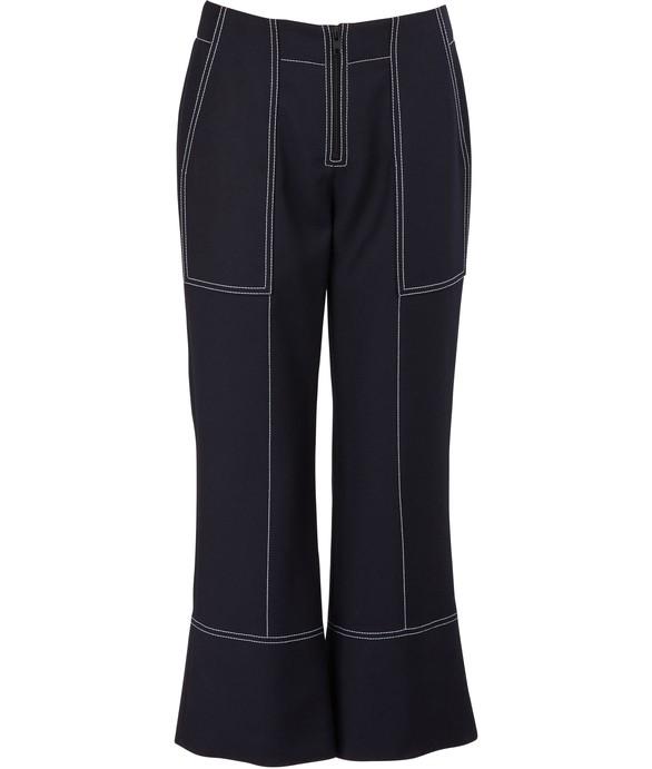 KENZOCotton cropped pants