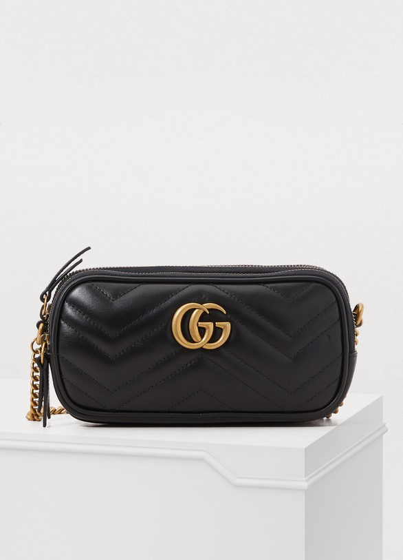 5c5a58b1404a Women's GG Marmont mini crossbody bag | Gucci | 24S | 24S