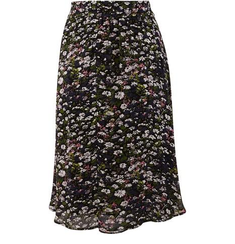 GANNIShort printed skirt