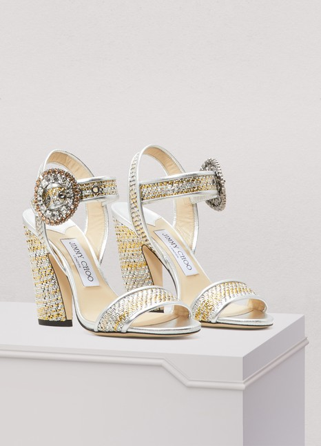 Jimmy ChooMisha 100 sandals