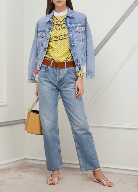 GANNIPrinted blouse