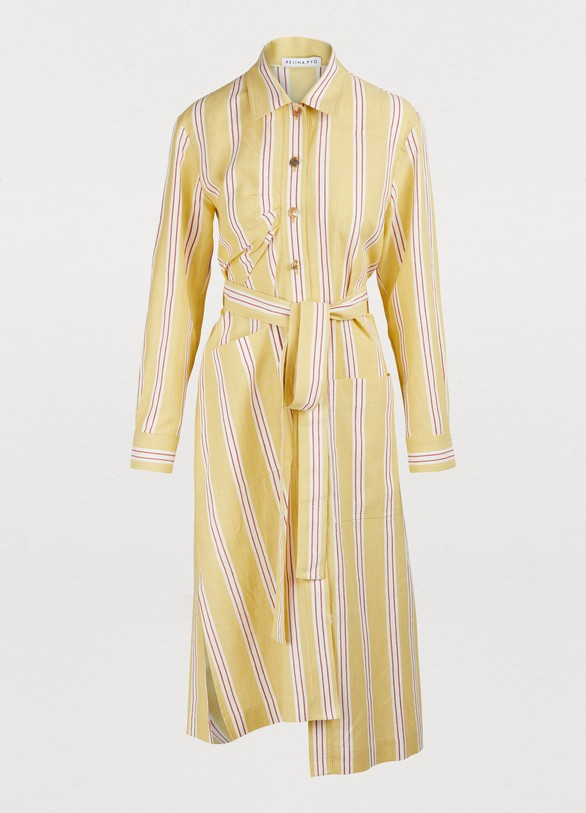 REJINA PYO Madison shirt dress