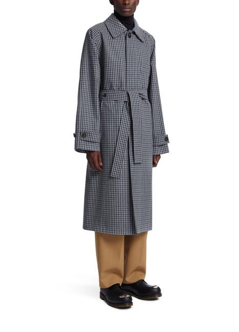 ACNE STUDIOSTartan raincoat