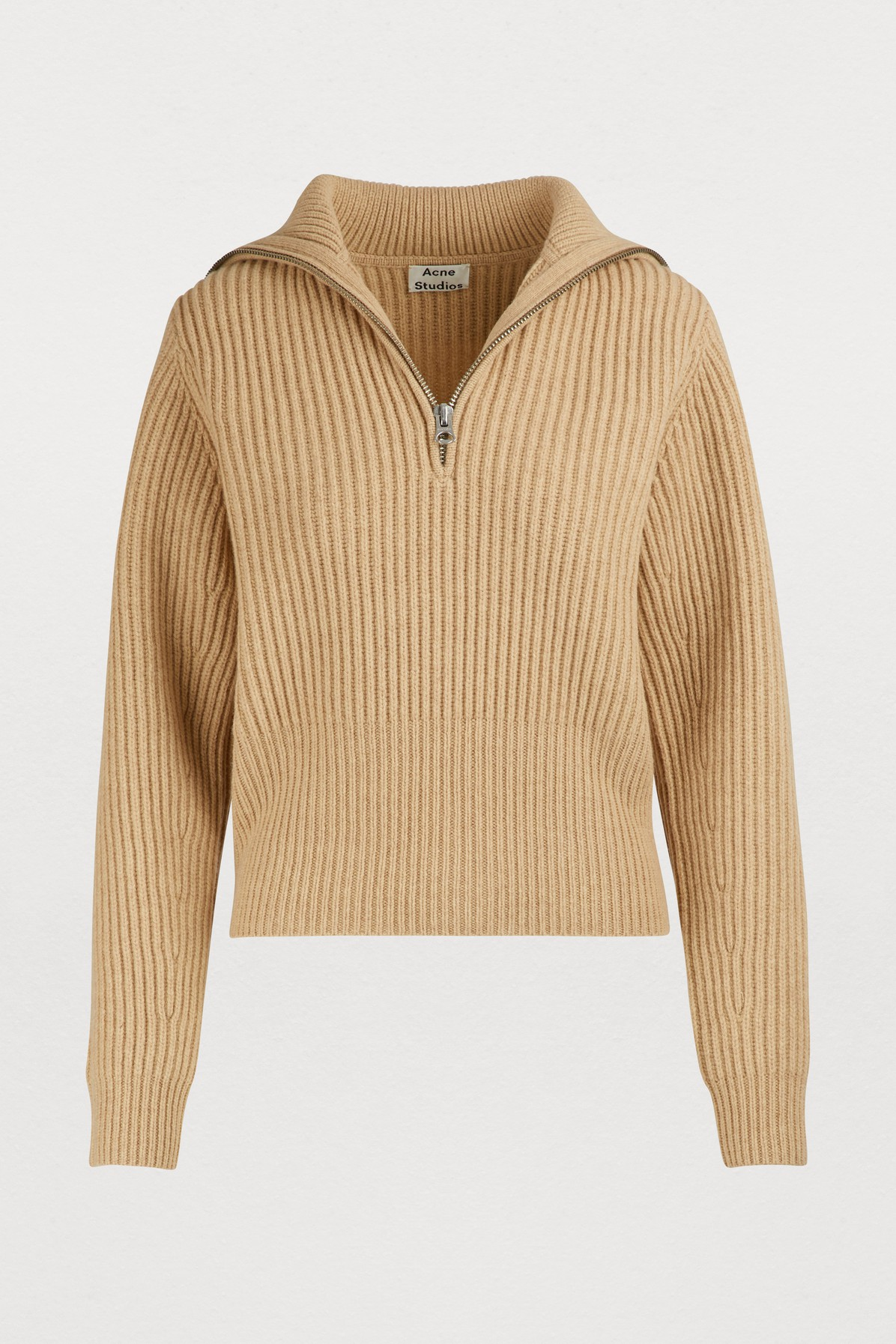 ACNE STUDIOS | Zipped Sweater | Goxip