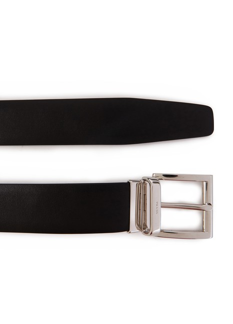 PRADA City calf skin belt