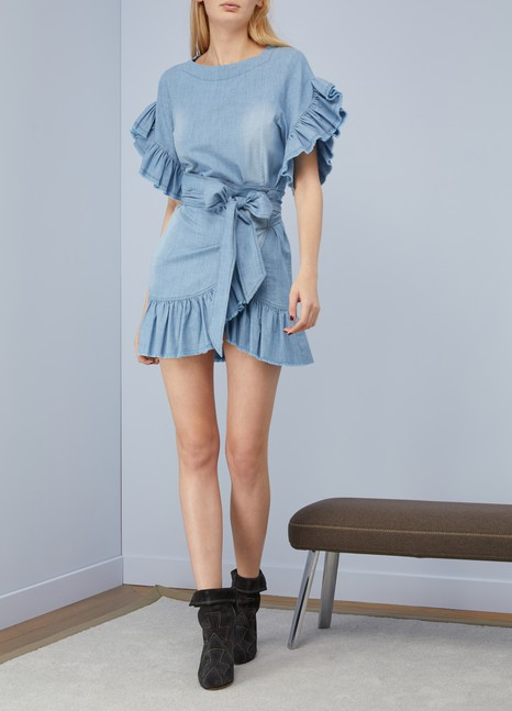 Isabel Marant Etoile Cotton Lelicia dress
