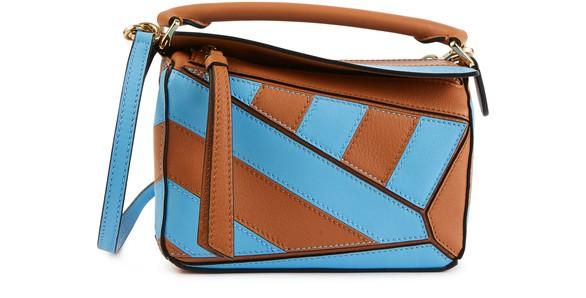 Mini Puzzle Rugby Shoulder Bag by Loewe