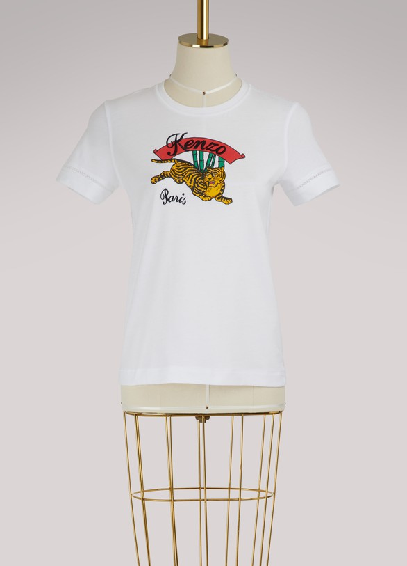 Kenzo Cotton Tiger Archive t-shirt