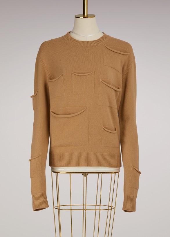 JW AndersonMulti-Pocketed Woolen Sweater