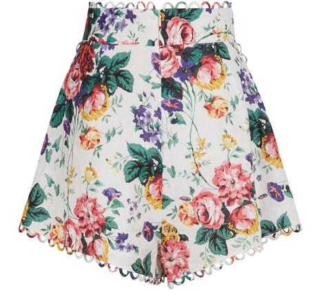 ZIMMERMANNAllia linen shorts