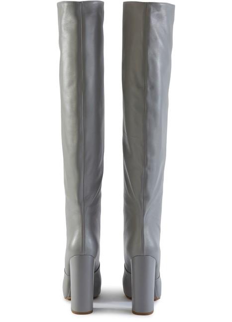 Overknee Stiefel Overknee Stiefel Aus Leder H2IWEYeDb9