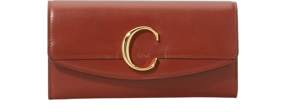 CHLOE Chloe C long wallet
