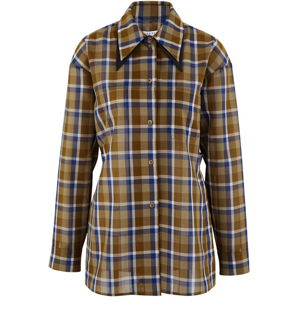 REJINA PYORory wool mix shirt