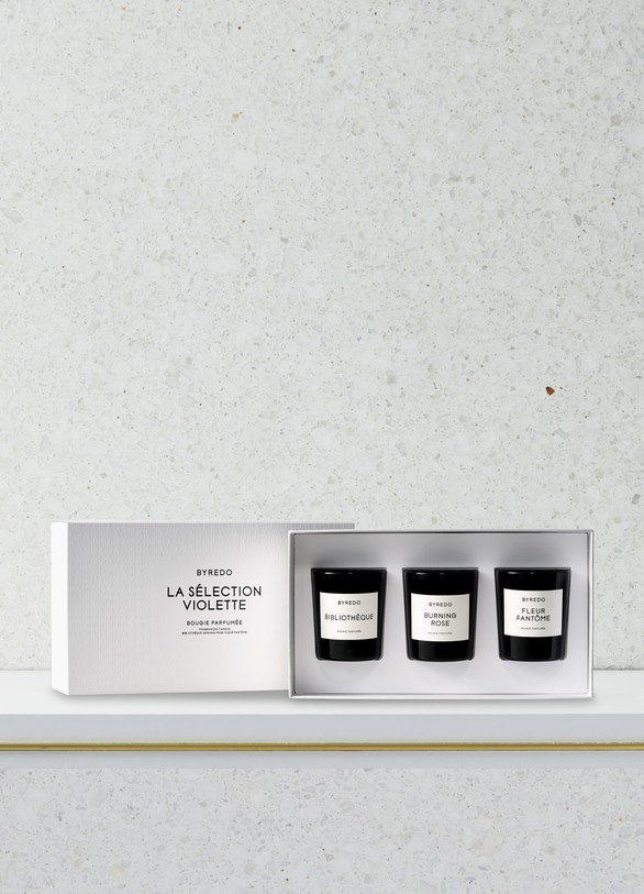 Byredo Violette mini candle gift set