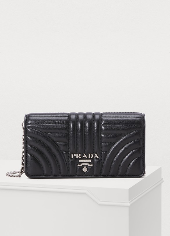 Prada Diagramme mini shoulder bag