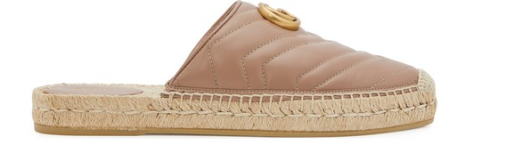 GUCCILeather espadrilles
