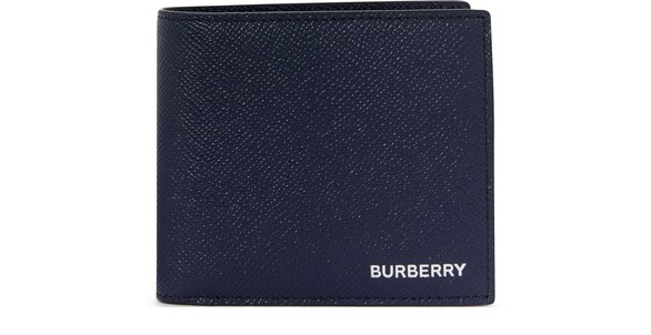 BURBERRYCC Bill leather 2-section wallet