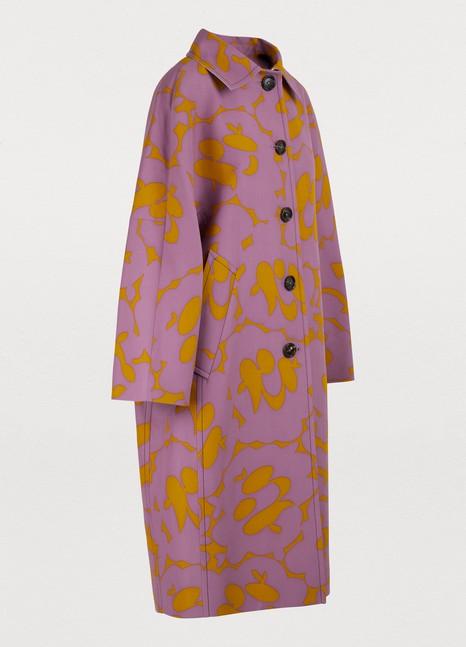 MarniOversized mid-length coat