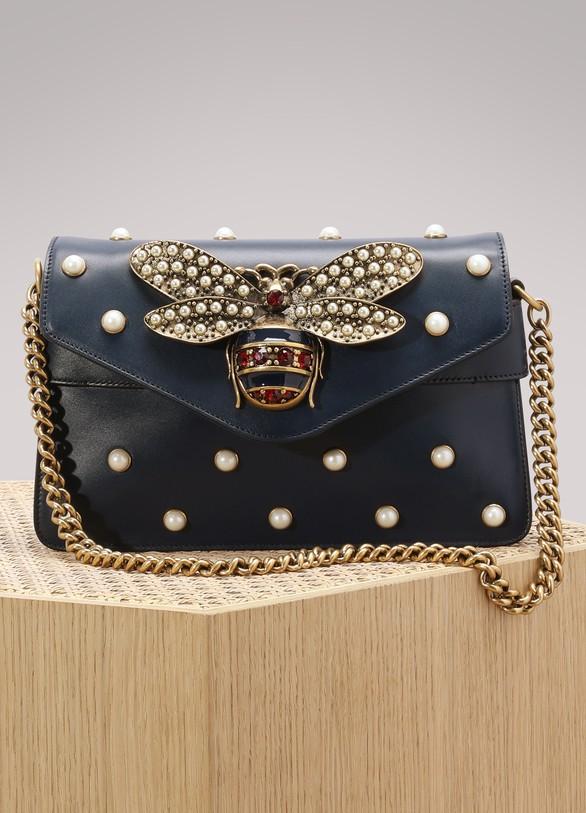 GucciBroadway Leather Clutch