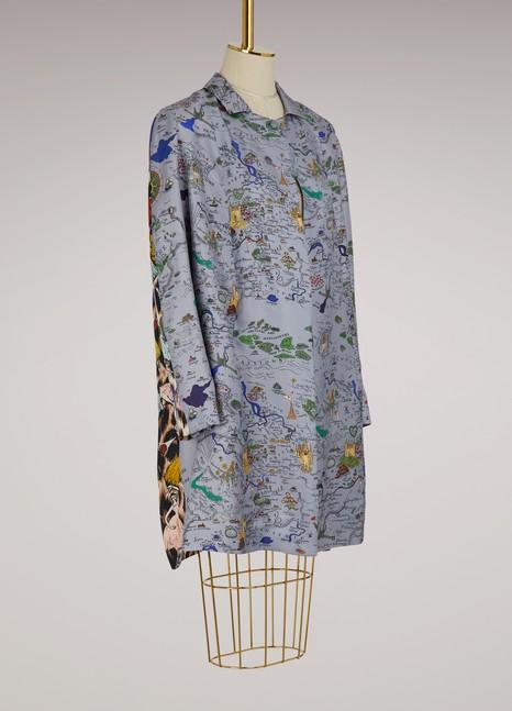 La Prestic OuistonSilk knee length jacket