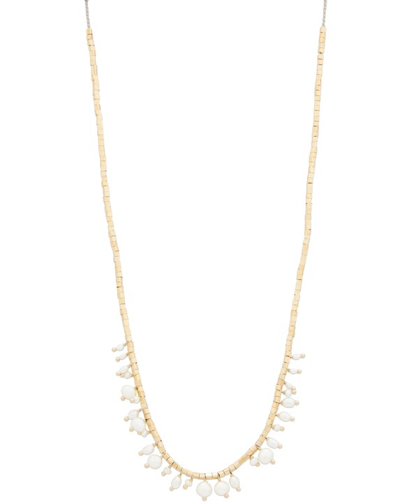 5 OCTOBRE Lipp silver gilt and freshwater pearl necklace