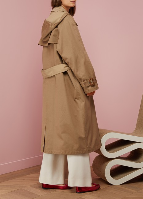 Maison Margiela Double trench en coton