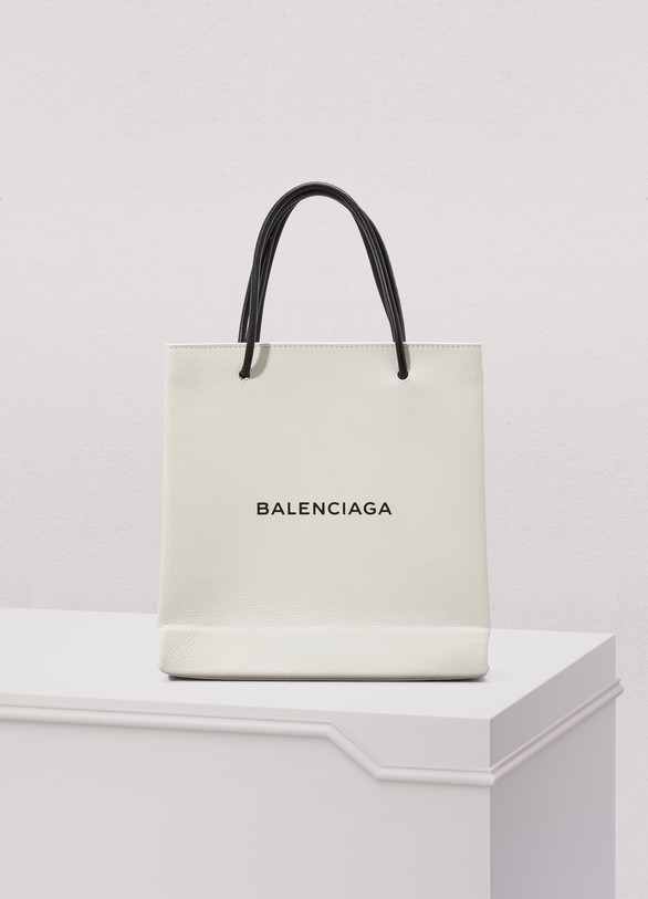 BalenciagaPetit sac shopping avec logo