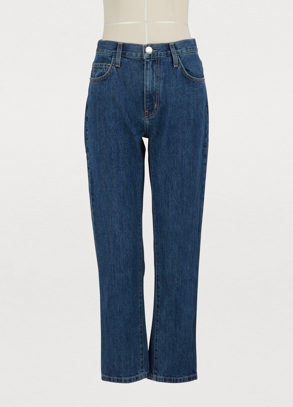 Current ElliottThe Vintage cropped slim jeans