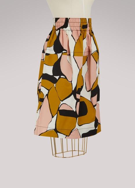 Marc JacobsJupe imprimée en soie