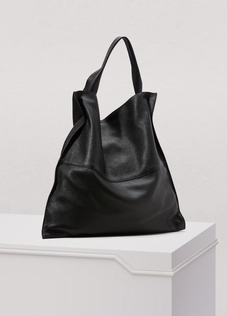5ea8d50edcb7 Jil Sander Xiao Leather Shopping Bag