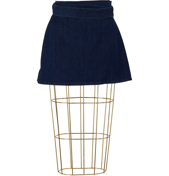 J W ANDERSON Denim mini skirt