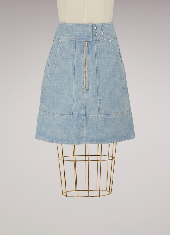 Isabel Marant Natalia cotton skirt