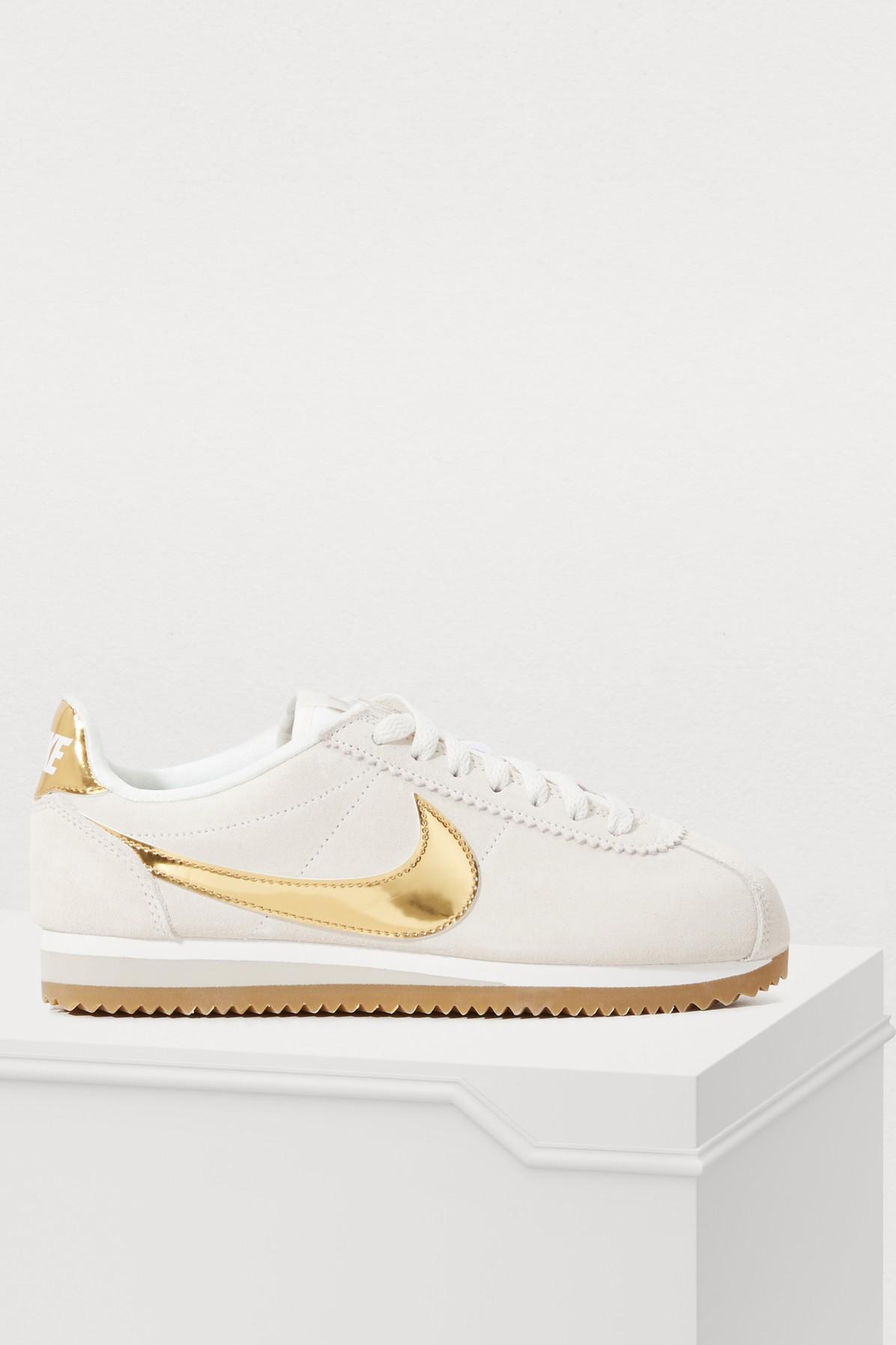 Nike Wmns Classic Cortez SE Casual Womens Shoes Sneakers Phantom 902856-013