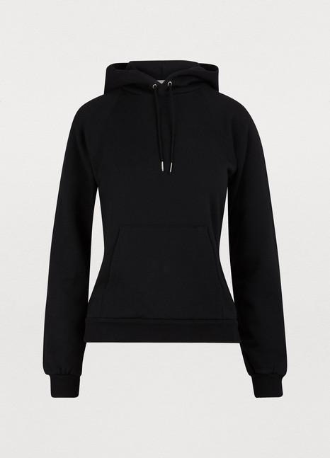 CELINEPrinted fleece hoodie