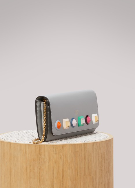 Fendi Continental chain clutch