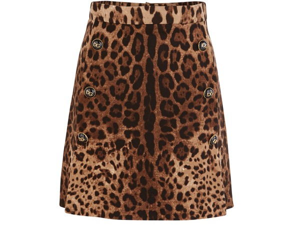 DOLCE & GABBANAWool skirt
