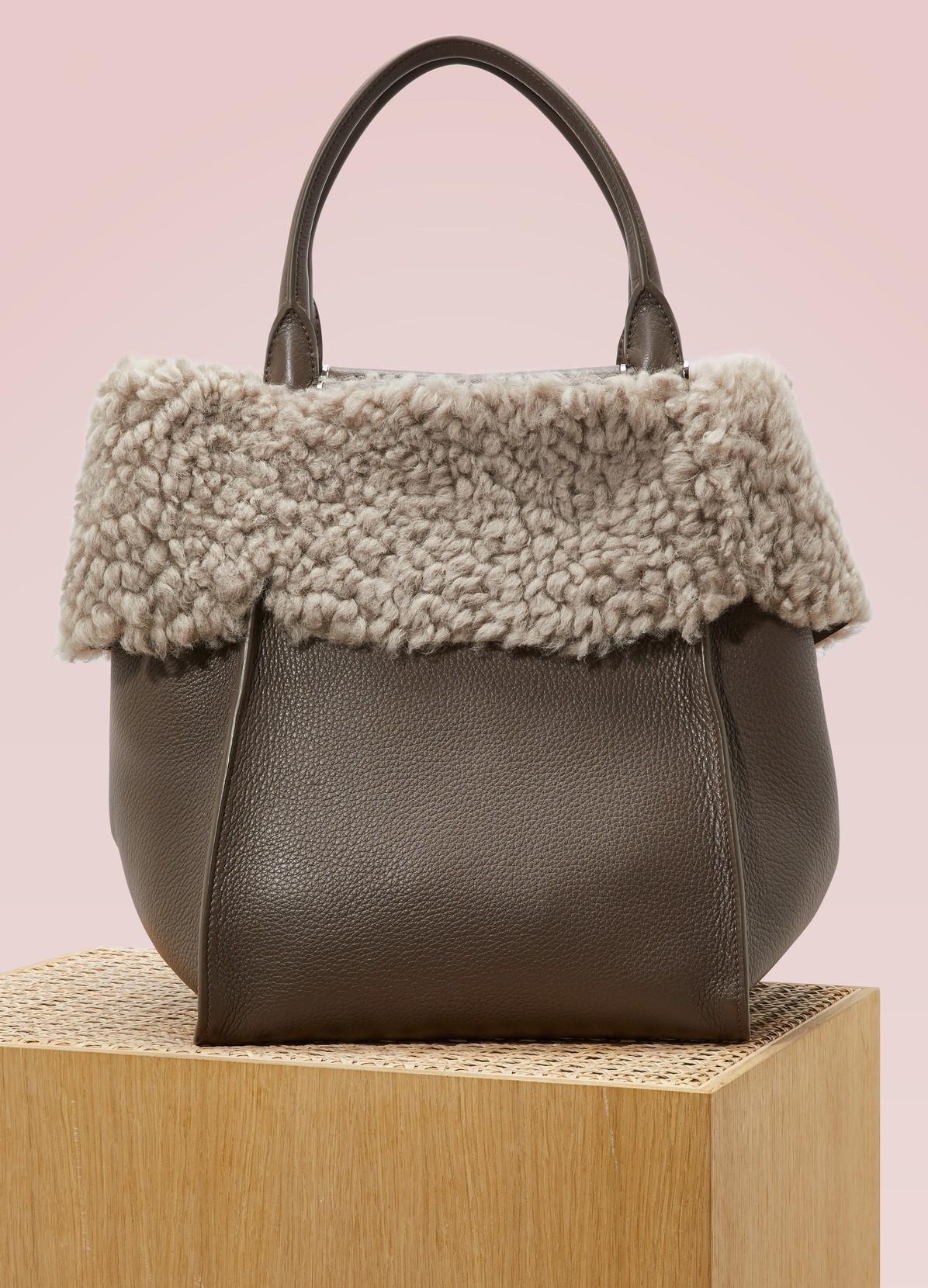Max Mara Deer Leather Handbag