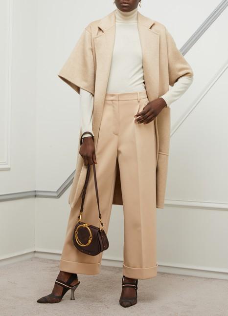 MAX MARARuta Camel and wool coat