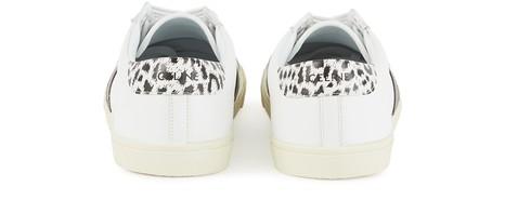 CELINECELINE TRIOMPHE Low lace up sneaker in Calfskin & Printed calfskin