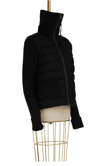 MONCLER Zip tricot cardigan
