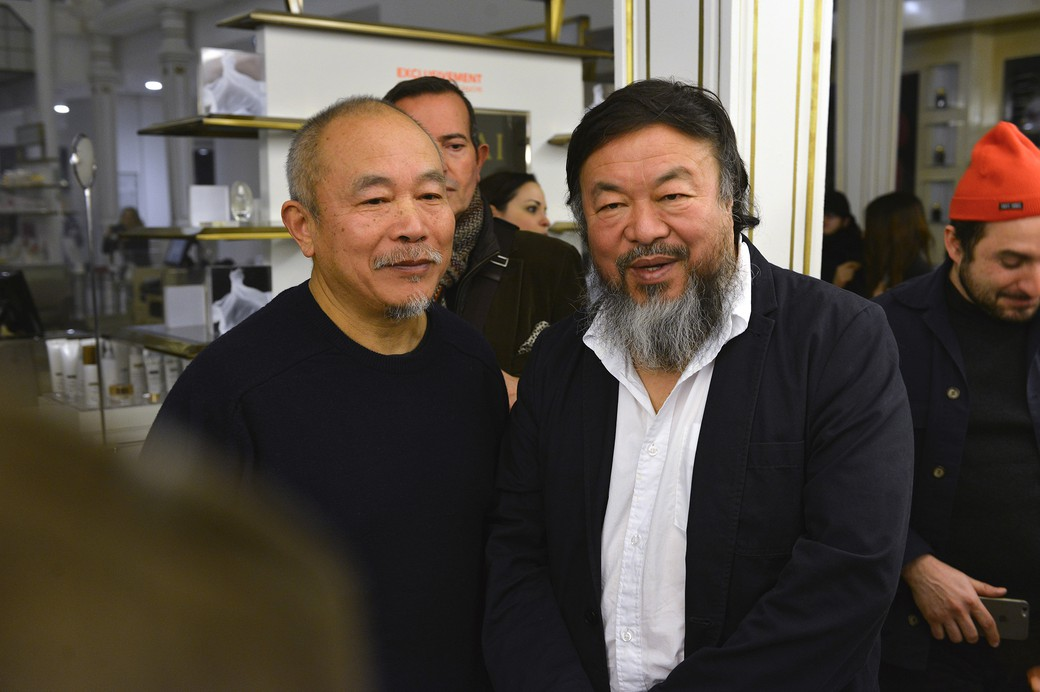 Ai Weiwei & Wang Keping - © Say Who