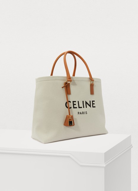 CELINEHorizontal Cabas Celine in Canvas