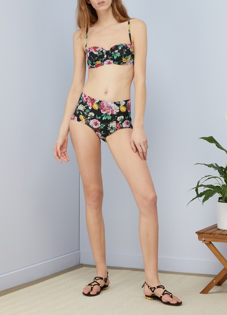 Dolce & GabbanaBas de maillot fleurs