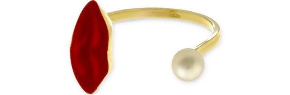DELFINA DELETTREZLips Piercing ring