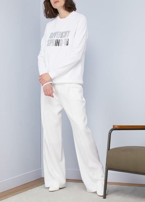 GivenchyGivenchy Spring-18 oversized sweatshirt