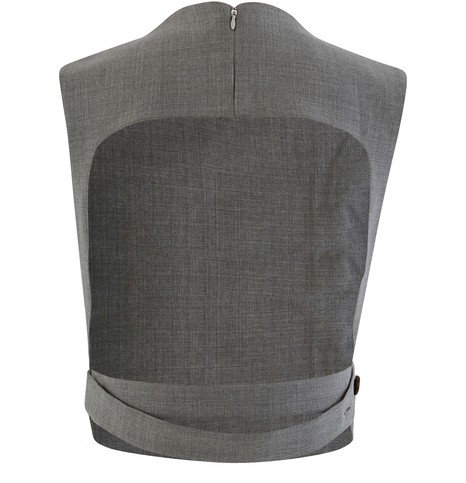 COPERNI Open Back Vest Wool Top